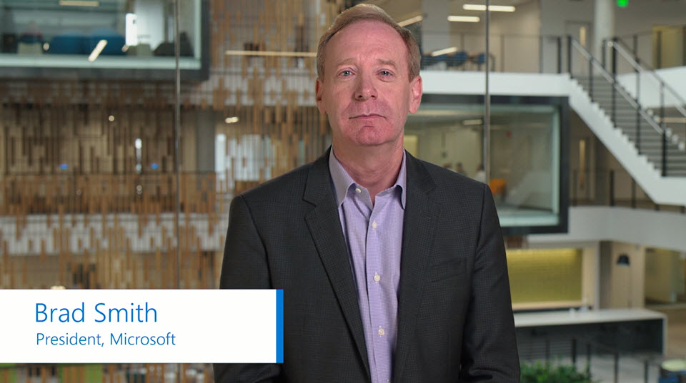 Brad Smith, Microsoft's president and chief legal officer, discusses the company's new Azure IP Advantage program. Designed to help Azure customers and developers focus on …