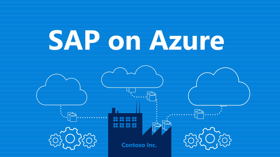 Sap On Azure Sap Cloud Solutions Microsoft Azure